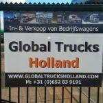 Global trucks holland Drukkerij Sky Nijmegen