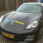 Drukkerij Sky Nijmegen Porsche bedrukking